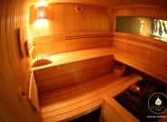 Sauna Bio (t°de 40 à 60°) de l'espace Biola - Spa SENTOSA
