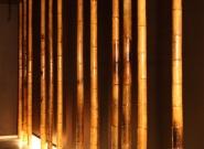 Détail du couloir style zen - Spa SENTOSA